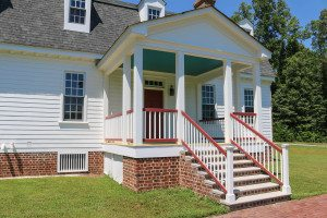 OH - GFH Bed and Breakfast Rear Porch