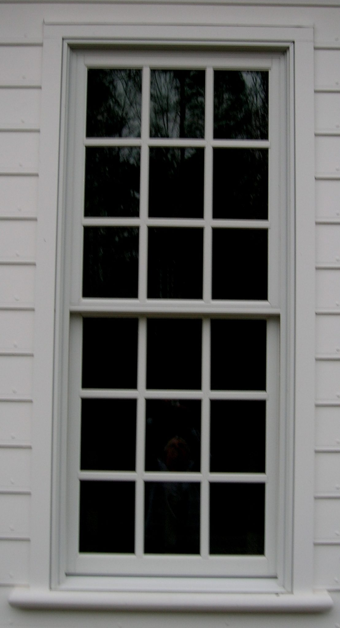 Double Hung Replacement Windows 12 Over 12 : Colonial house part gracefield hall l c