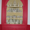Colonial House Corner Cabinet
