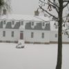 A snowy January day at Gracefield Hall
