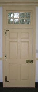 Gracefield Hall Front Door