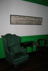 Colonial House Game table